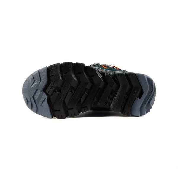 Ботинки зимние подросток Maxus Джерси-д темно-синий нубук
