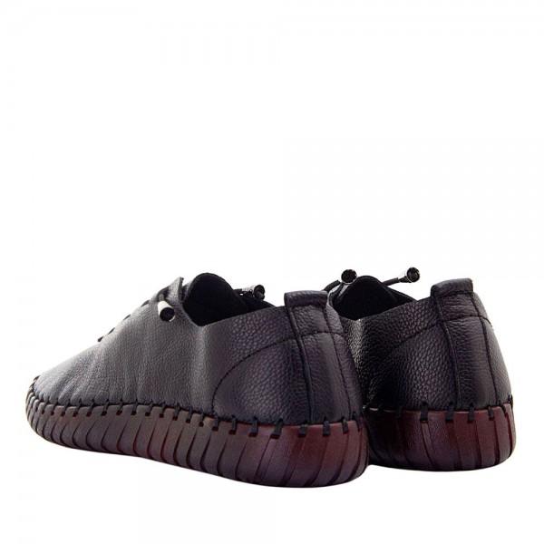 Мокасины женские Brenda MS 21639 черный