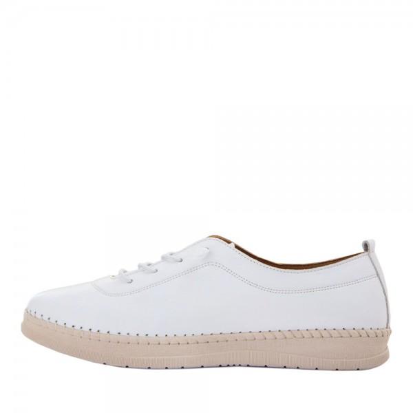 Мокасины женские Brenda MS 21641 белый