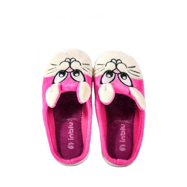 Тапочки комнатные детские Inblu B9-7D розово-бежевые