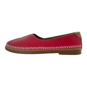 Мокасины женские Brenda MS 21645 красный