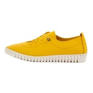Мокасины женские Brenda MS 21647 желтый