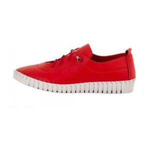 Мокасины женские Brenda MS 21648 красный