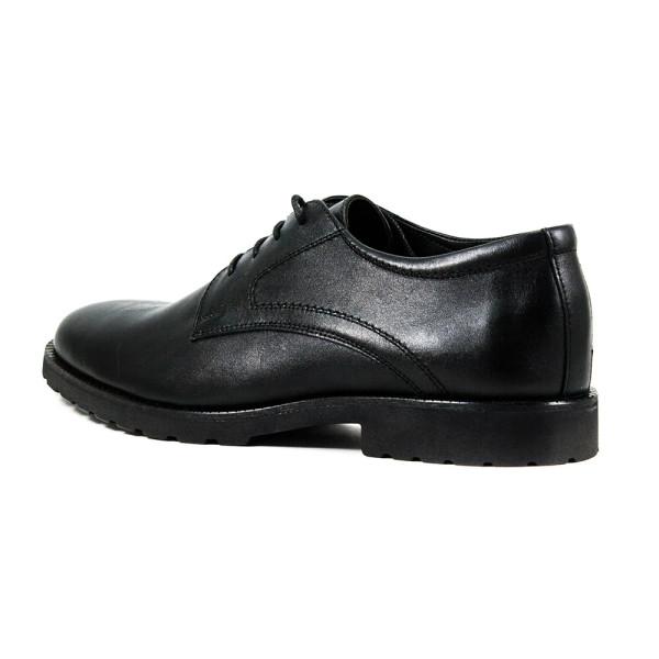 Туфли мужские MIDA 110732-566 черная кожа
