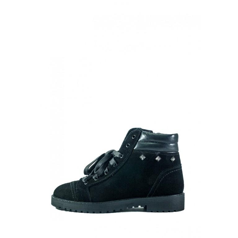Ботинки зимние женские MIDA 24868-249Ш черные