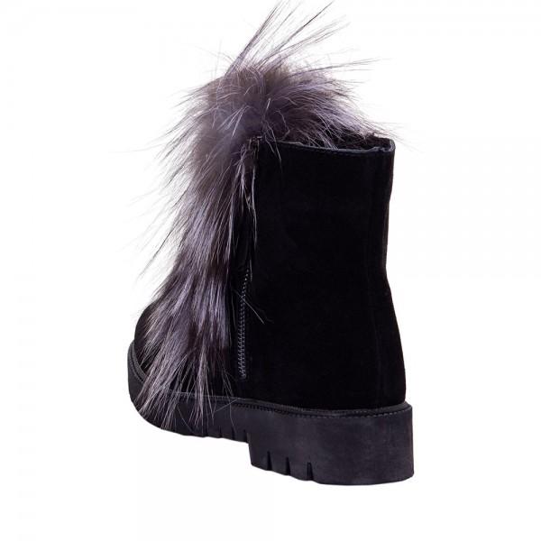 Ботинки женские Optima MS 22145 черный