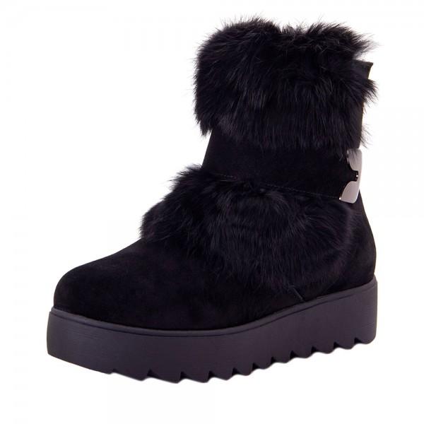 Ботинки женские Optima MS 22146 черный