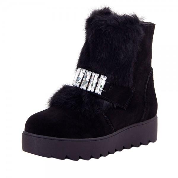 Ботинки женские Optima MS 22148 черный