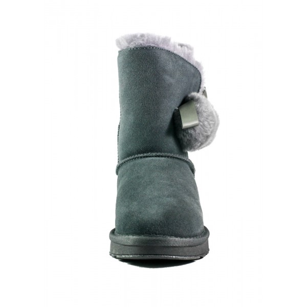 Угги женские Lonza 8002-28B серые