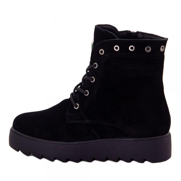 Ботинки женские Optima MS 22150 черный