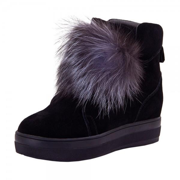 Ботинки женские Optima MS 22151 черный