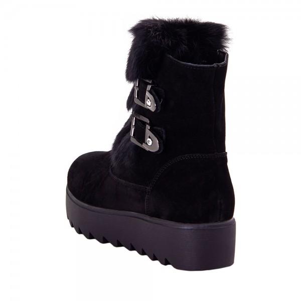 Ботинки женские Optima MS 22153 черный