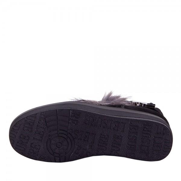 Ботинки женские Optima MS 22154 черный