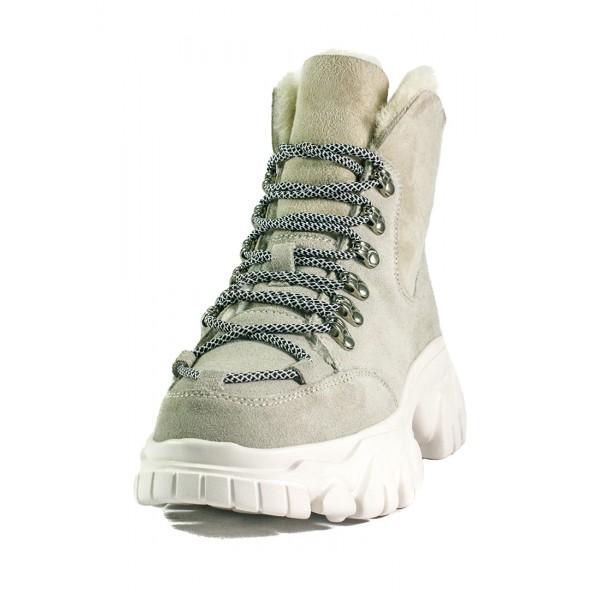 Ботинки зимние женские Allshoes OAB8541-10 бежевые