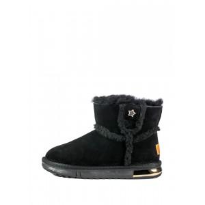 Угги женские Allshoes OAB2080-5 черные