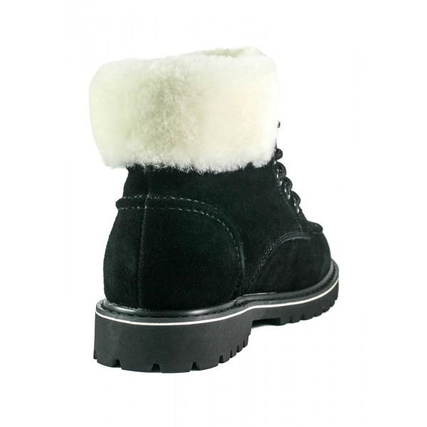 Ботинки зимние женские Lonza 1251-28E черные