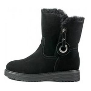 Черевики зимові жіночі Allshoes чорний 22004
