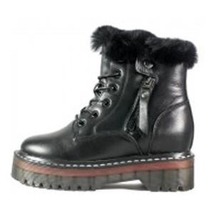 Ботинки зимние женские Lonza HS-2888-1P черные