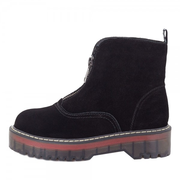Ботинки женские Optima MS 22079 черный