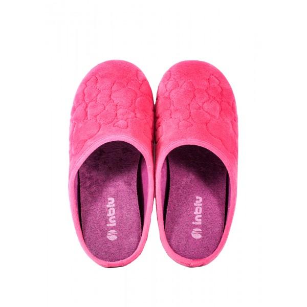 Тапочки комнатные женские Inblu VG-5D розовые