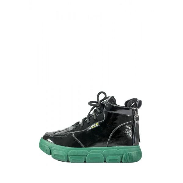 Ботинки демисезон женские Loris Bottega WG-713 черные