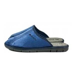 [:ru]Тапочки комнатные мужские Inblu 91-1D синие[:uk]Тапочки кімнатні чоловічі Inblu синій 22039[:]