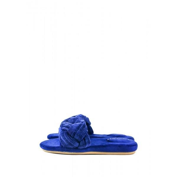 Тапочки комнатные женские Home Story 201809-F синие