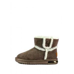 Угги женские Allshoes OAB2080-5 коричневые