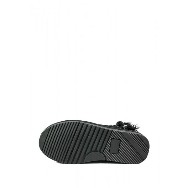 Угги женские Lonza 8051-28B черные