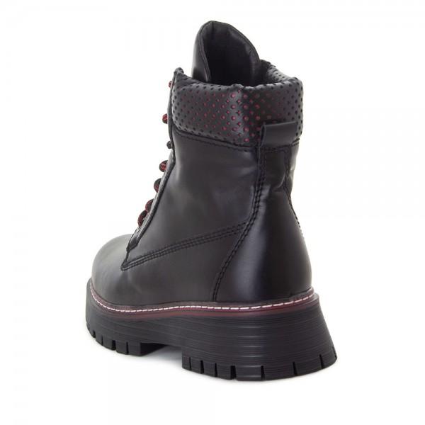 Ботинки женские Tomfrie MS 22177 черный
