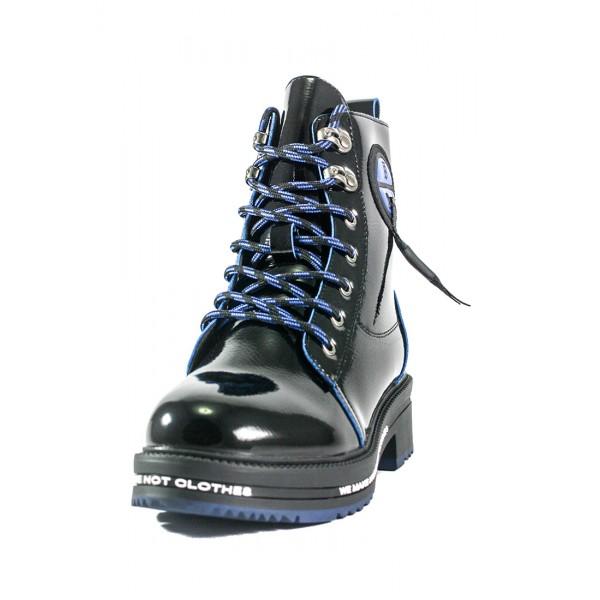 Ботинки демисезон женские Lonza D19-7822-5 черные