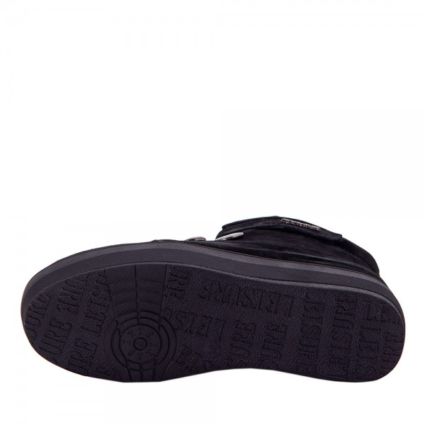 Ботинки женские Optima MS 22138 черный