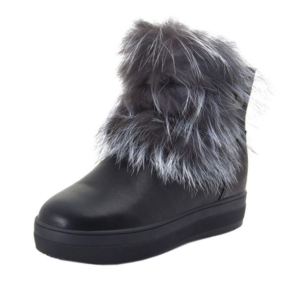 Ботинки женские Optima MS 22139 черный