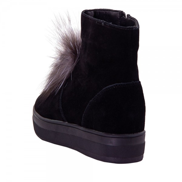 Ботинки женские Optima MS 22140 черный