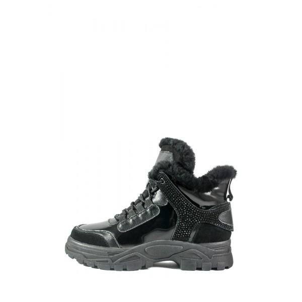 Ботинки зимние женские Selliveno A20-18008YM-198 черные