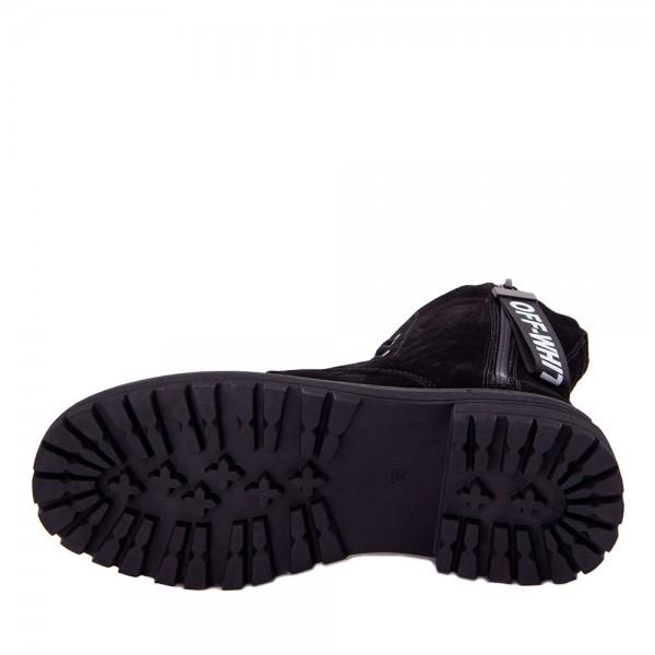 Ботинки женские Optima MS 22141 черный