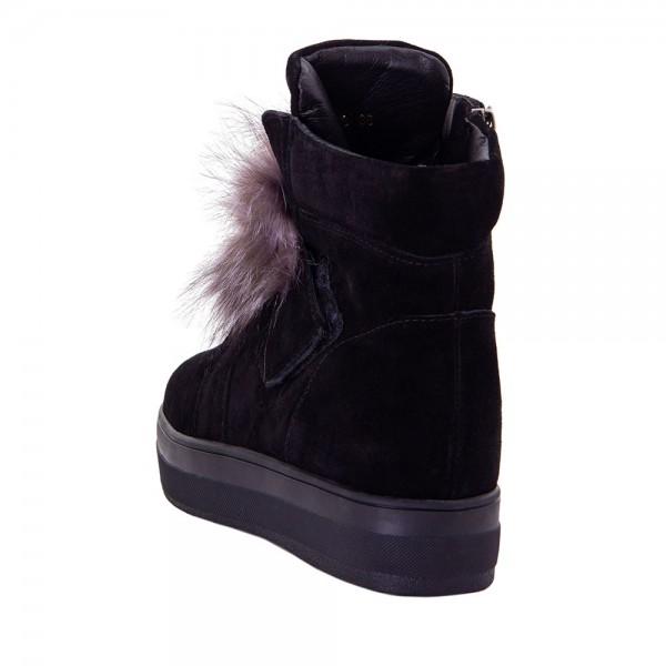 Ботинки женские Optima MS 22142 черный