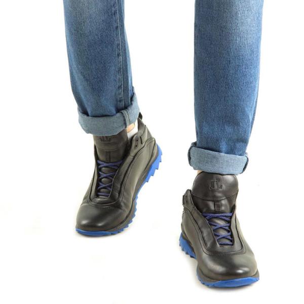 Ботинки мужские Level MS 22283 черный
