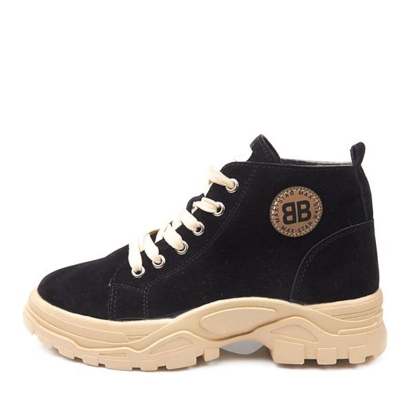 Ботинки женские Erra MS 22290 черный