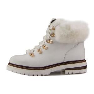 Ботинки женские Tomfrie MS 22294 белый