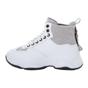 Ботинки женские Standart MS 22351 белый, серый