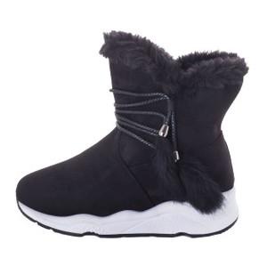 Ботинки женские Erra MS 22366 черный