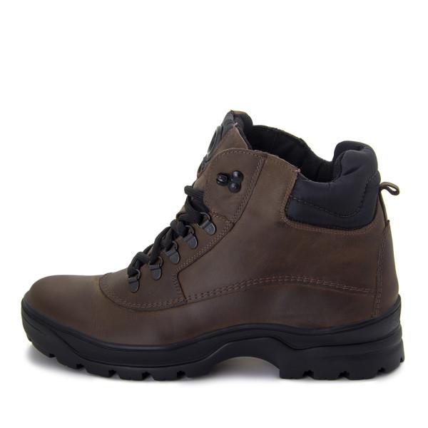 Ботинки зимние мужские MIDA MS 22374 коричневый