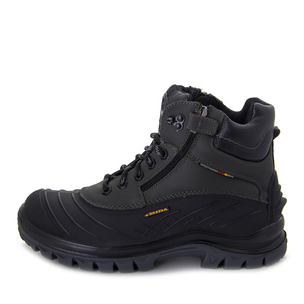 Ботинки зимние мужские MIDA MS 22376 хаки