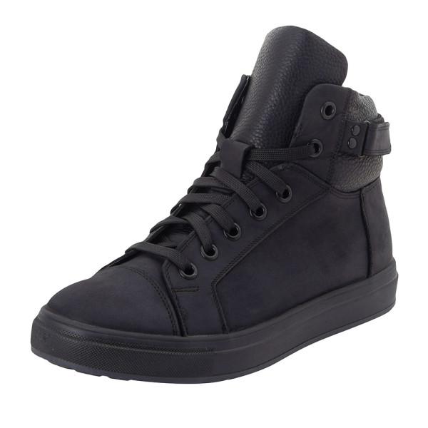 Ботинки зимние мужские MIDA MS 22378 черный
