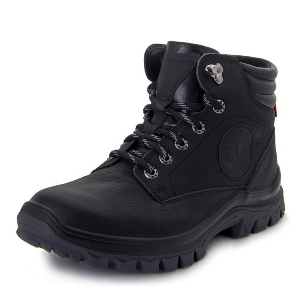Ботинки зимние мужские MIDA MS 22379 черный
