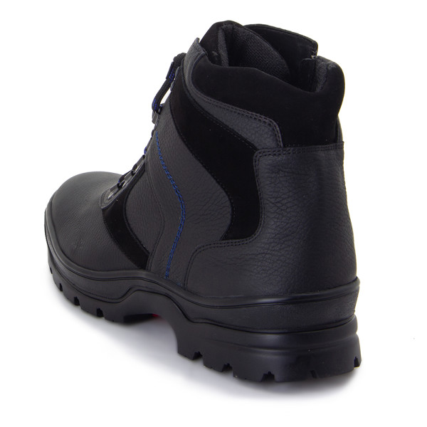 Ботинки зимние мужские MIDA MS 22386 черный
