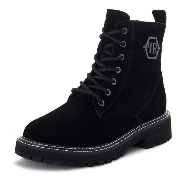 Ботинки женские Optima MS 22388 черный