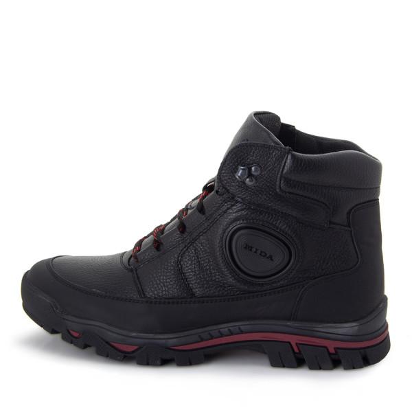 Ботинки зимние мужские MIDA MS 22394 черный