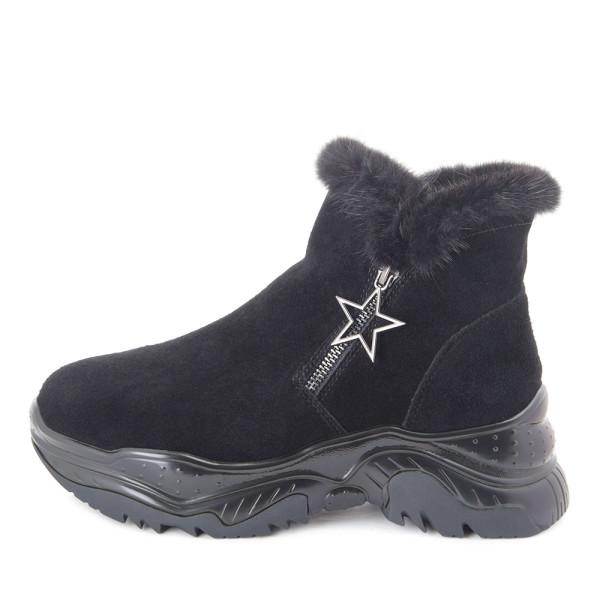 Ботинки женские Tomfrie MS 22408 черный